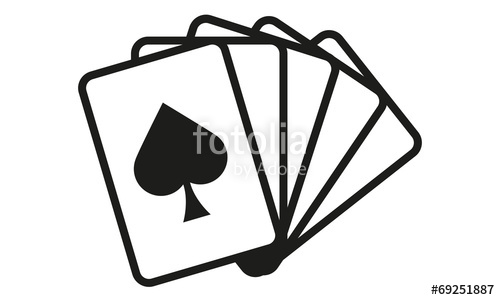 500x300 Kartenspiel Karten Pik Stock Image And Royalty Free Vector