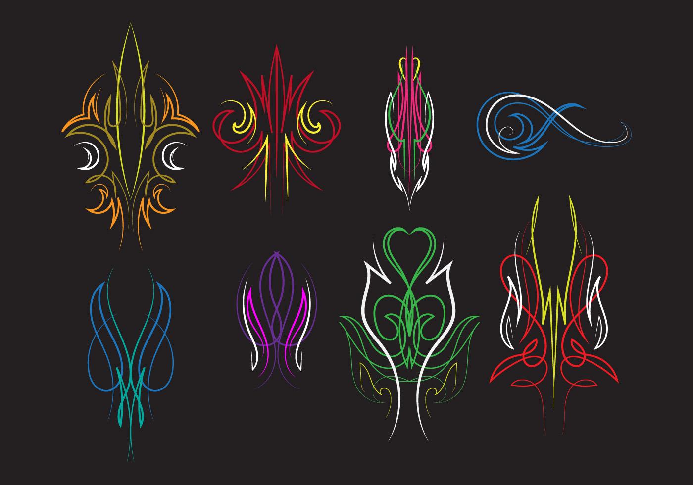 1400x980 Pinstripe Free Vector Art