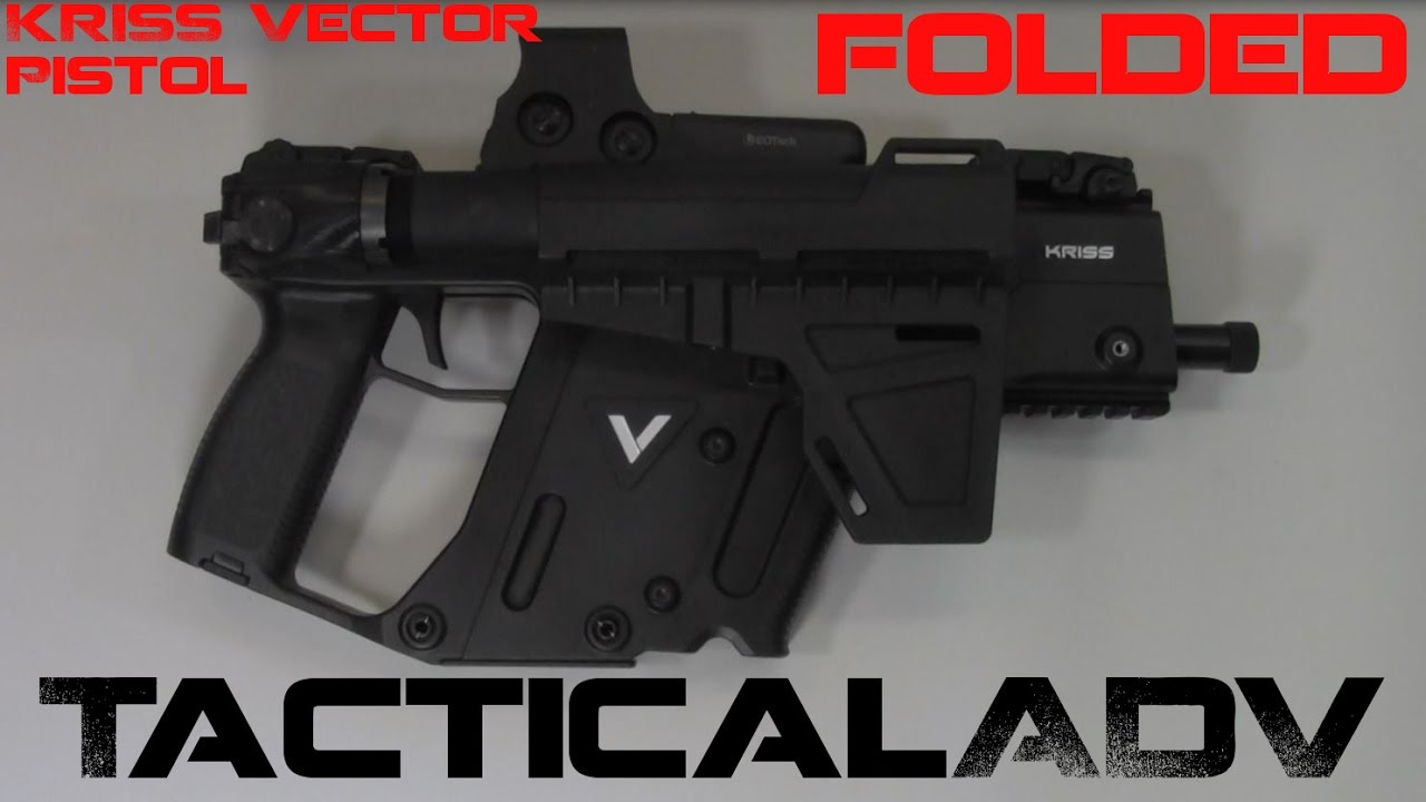 1280x720 Kriss Vector Gen2 45acp Pistol Folder!