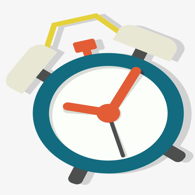 650x651 Creative Alarm Clock To Get Up Early, Clock Vector, Pointer, Six