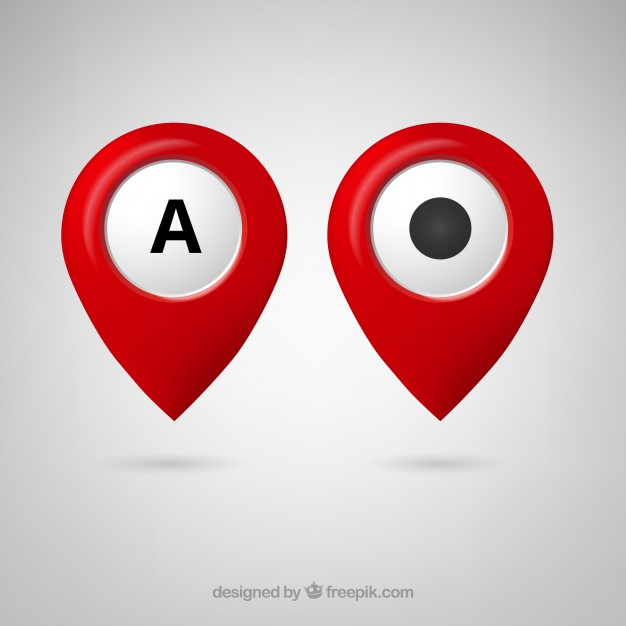 626x626 Free Google Maps Pointer Icon Vector Free Download