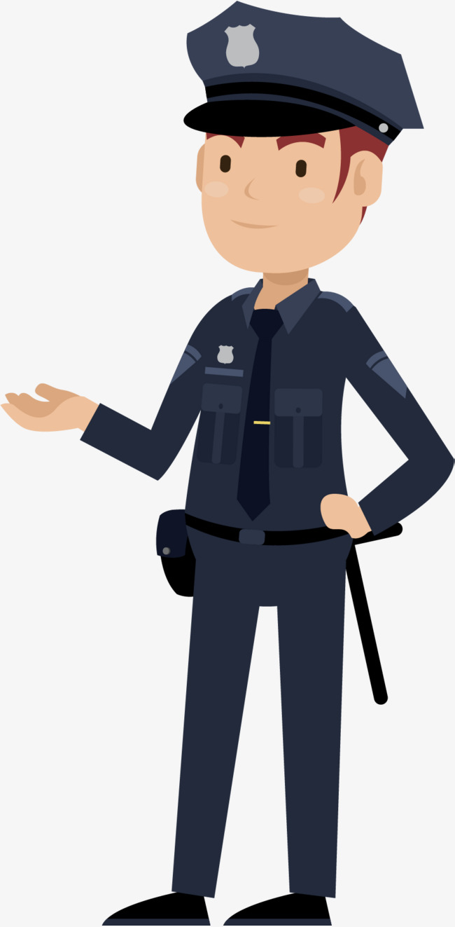 650x1323 Cartoon Police, Cartoon Vector, Police People, Little Cop Png And