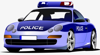 382x213 Cartoon Police Car, Cartoon Vector, Car Vector, Police Clipart Png