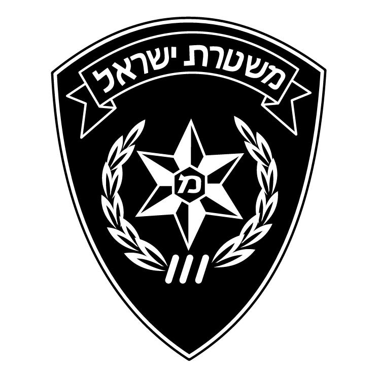 745x745 Police Israel Free Vector 4vector