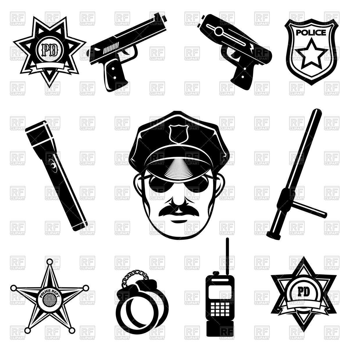 1200x1200 Police Symbols