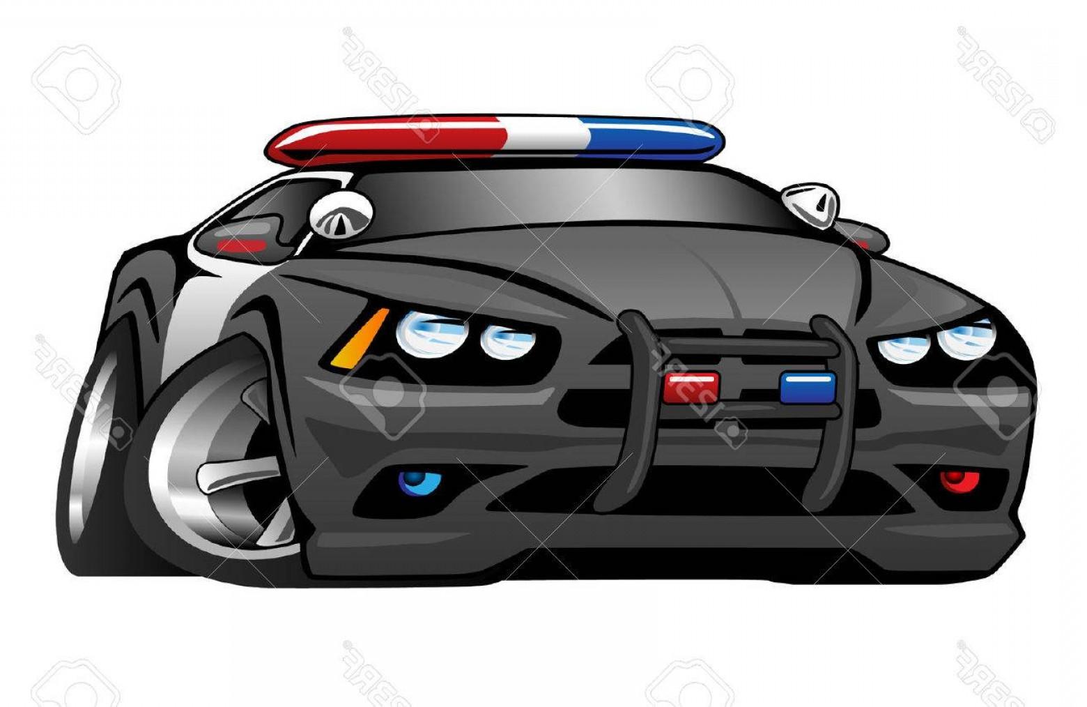 1560x1014 Photostock Vector Police Muscle Car Cartoon Illustration Lazttweet