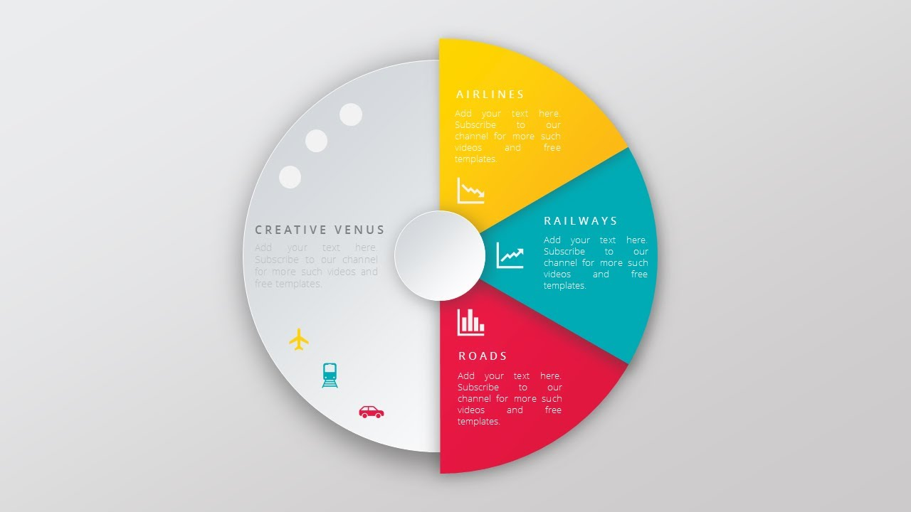 1280x720 Create Super Impressive Vector Like Pie Chart In Microsoft Office