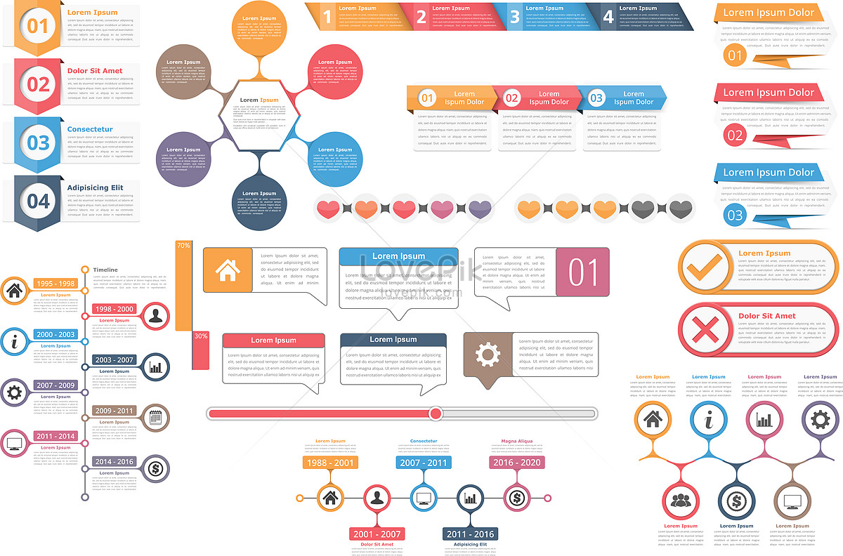 1200x792 Vector Ppt Information Chart Graphics Image Picture Free Download