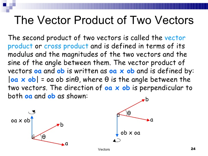728x546 Physics Vector Or Cross Product