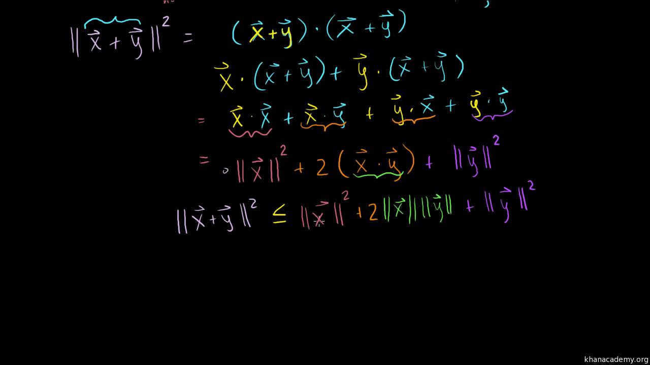 1280x720 Cross Product Introduction (Formula) Vectors (Video) Khan Academy