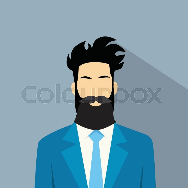 800x800 Business Man Profile Icon Male Avatar Hipster Style Fashion