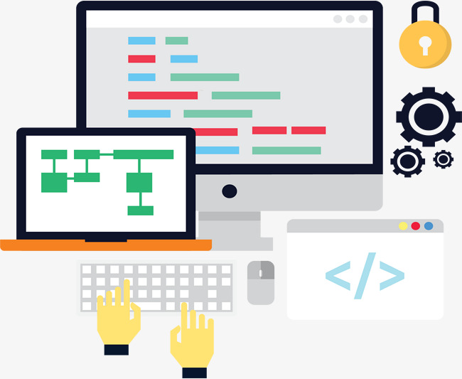 650x533 Programming Development, Vector Material, Program Development