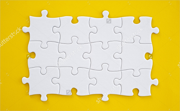 585x362 Puzzle Template, Blank Puzzle Template Free Amp Premium Templates