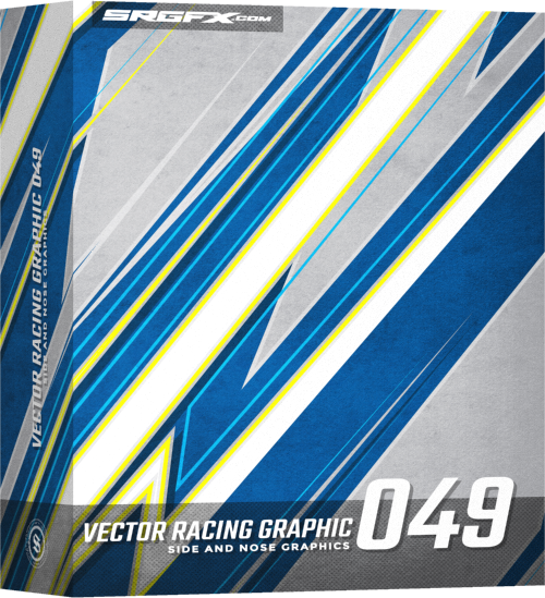 500x549 Vector Racing Graphic 049 School Of Racing Graphics