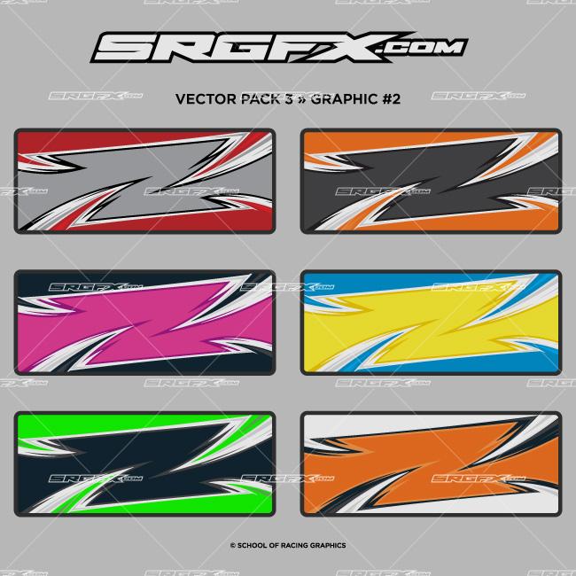 Vector Racing Graphics