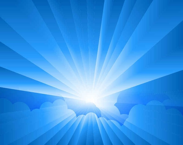 600x475 Sun Burst With Rays Background Free Vector In Encapsulated