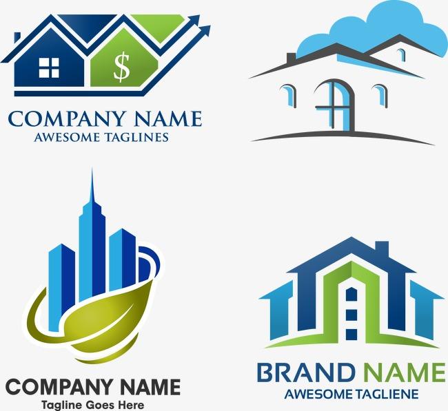 650x597 Vector Real Estate Logo, Property Logo, Corporate Logo, Vector Png