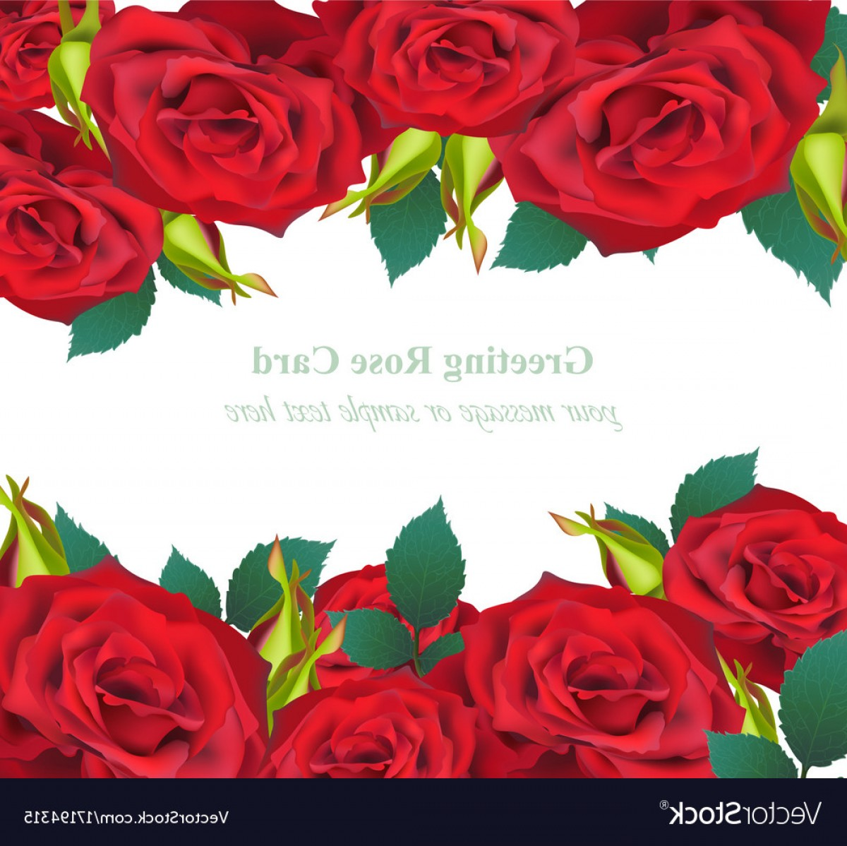 1200x1198 Red Roses Flower Invitation Card Delicate Vector Arenawp
