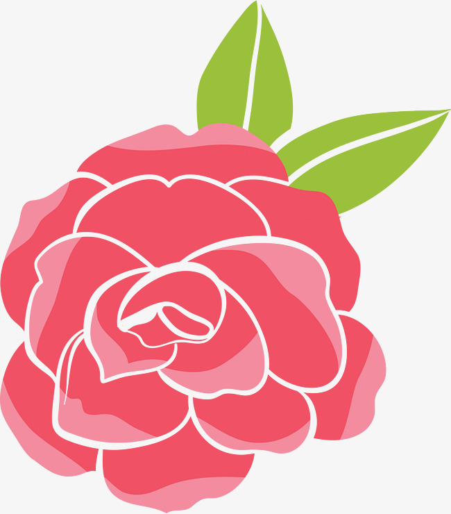 650x740 Red Vector Rose, Rose Clipart, Cartoon Rose, Red Rose Png And