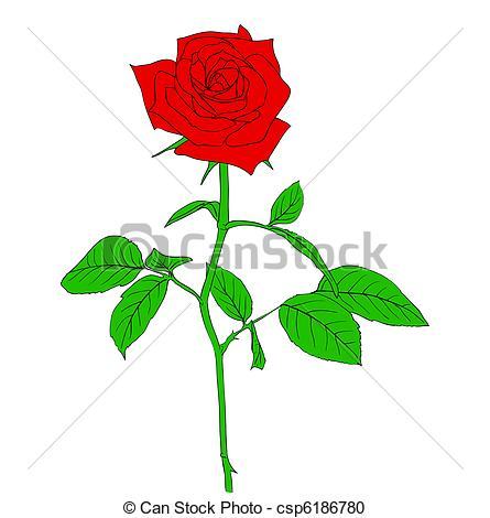 445x470 Red Rose Clipart Logo Free Collection Download And Share Red