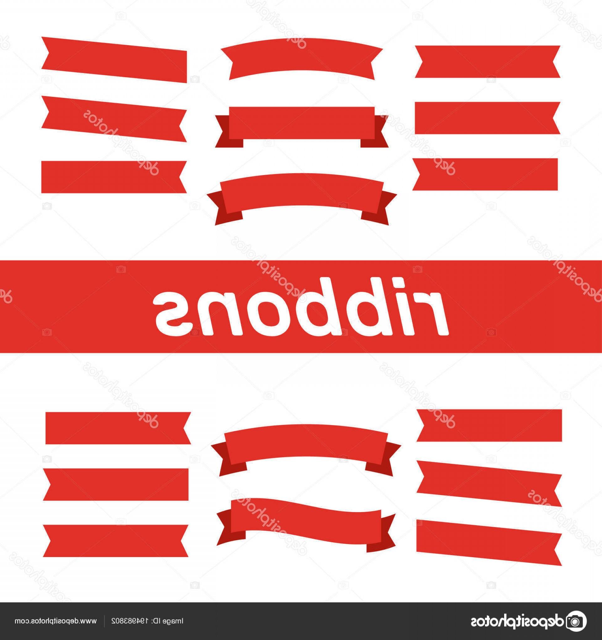 1920x2040 Stock Illustration Flat Vector Ribbons Banners Flat Orangiausa