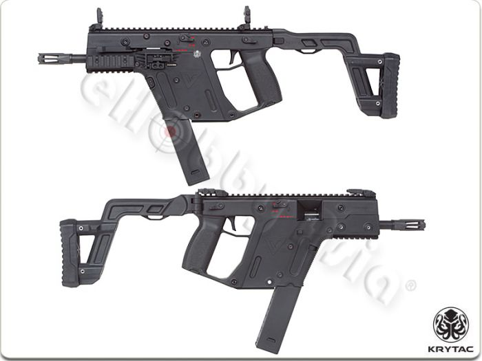 700x525 Krytac Kriss Vector Aeg Smg Rifle (Black)