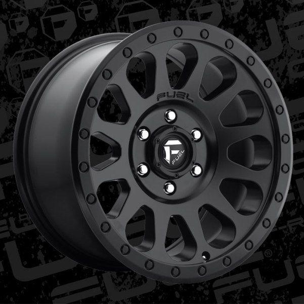 601x600 For Chevy Colorado 15 18 Fuel D579 Vector 1pc Wheels 20x9 ( 6