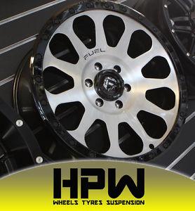 278x300 4x 16x8 6139.7 Et 20 Fuel Vector Wheels Suit Ford Ranger Px