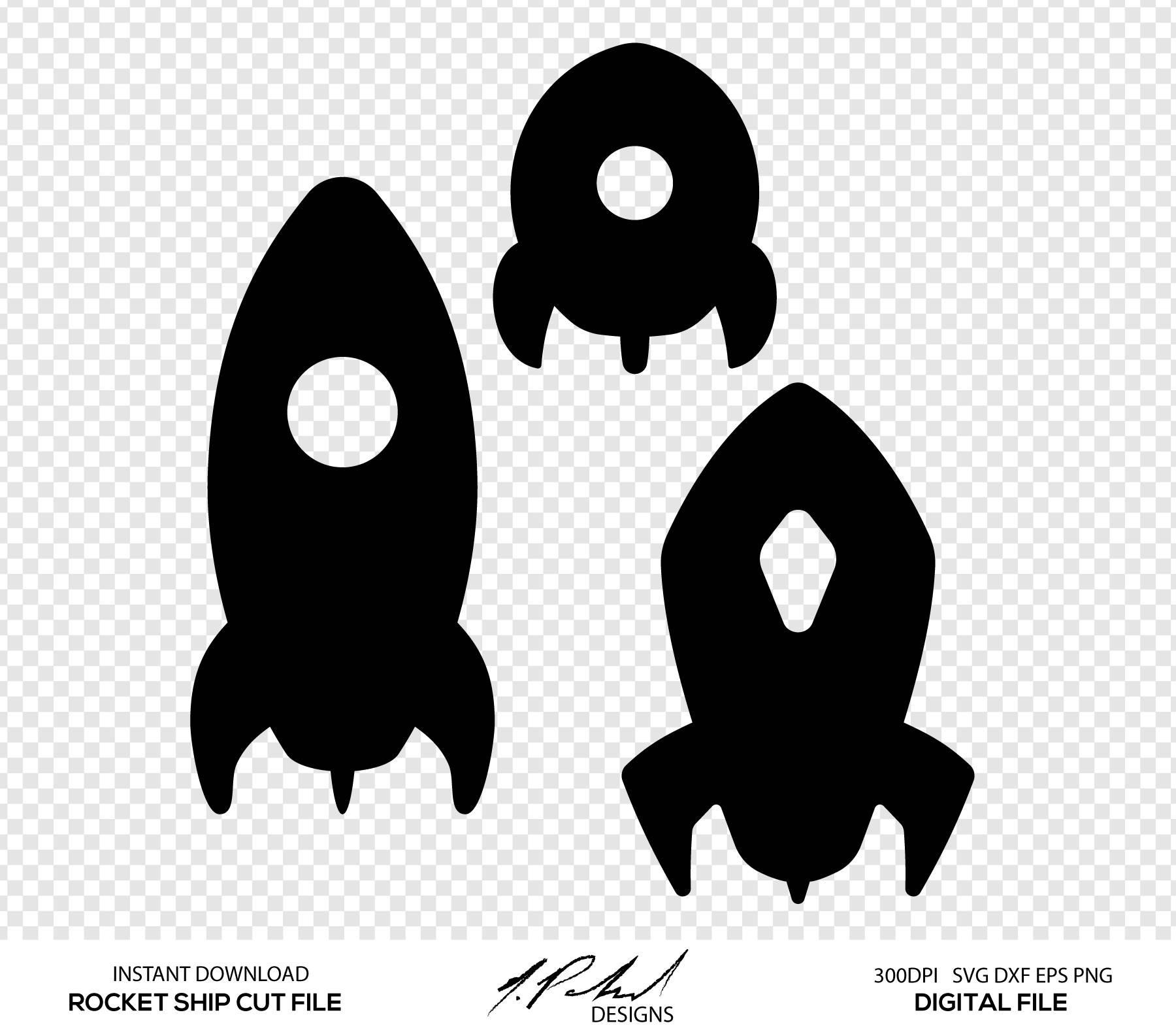 1800x1585 Rocket Ship Digital Cut Files Digital Files Rocket Svg Etsy
