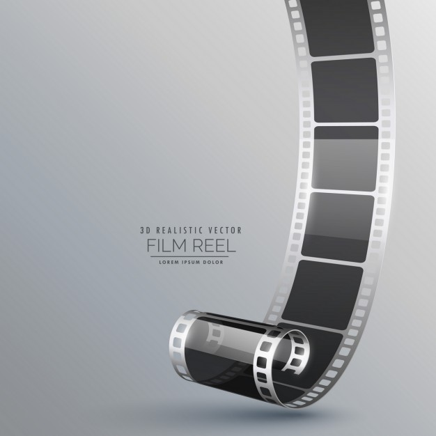 626x626 Realistic Film Roll Vector Free Download