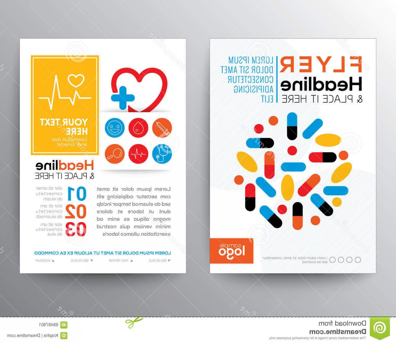 1560x1356 Stock Illustration Health Care Medical Poster Brochure Flyer