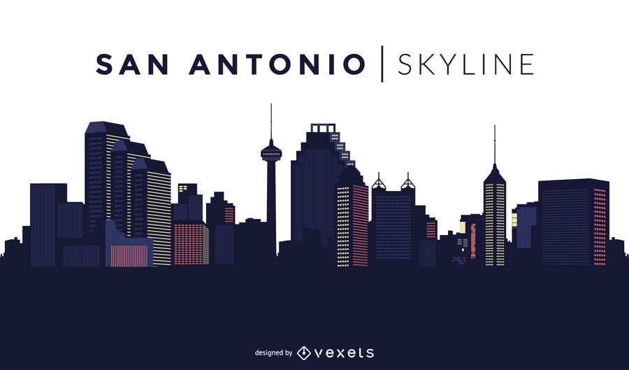 900x529 San Antonio Skyline Design