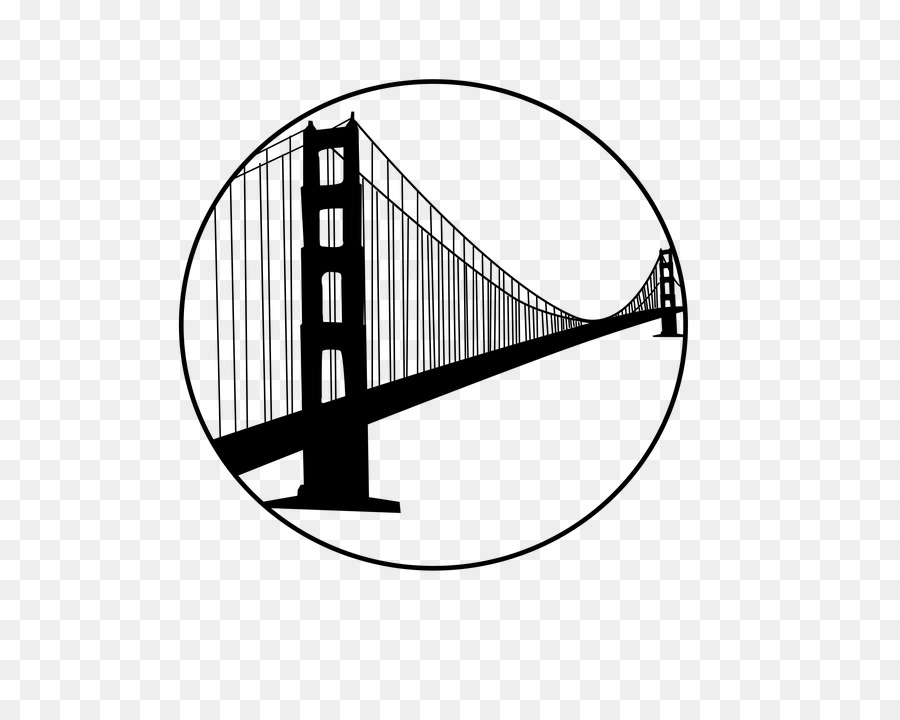 900x720 Golden Gate Bridge San Francisco Bay Clip Art