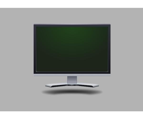 600x513 Lcd Screen Clip Art Free Vector 4vector