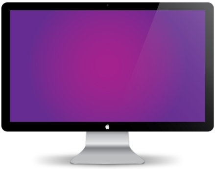 439x346 Mac Display Vector Free Vector In Adobe Illustrator Ai ( .ai