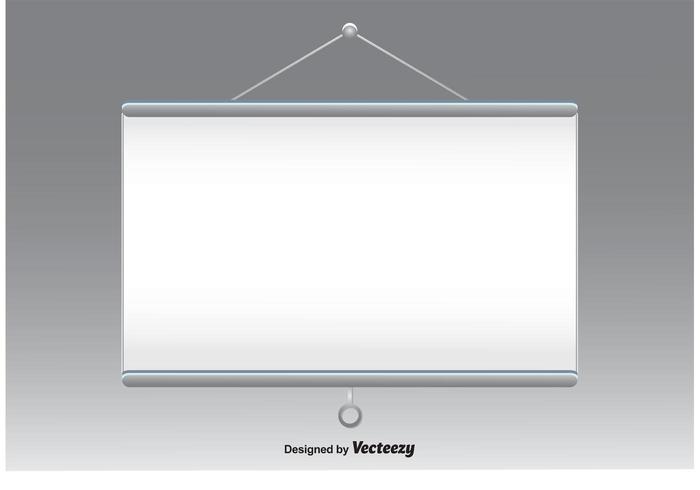 700x490 Projector Screen Vector