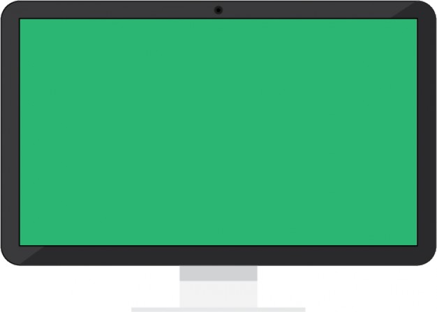 626x448 Simple Monitor Screen Vector Over Millions Vectors, Stock Photos