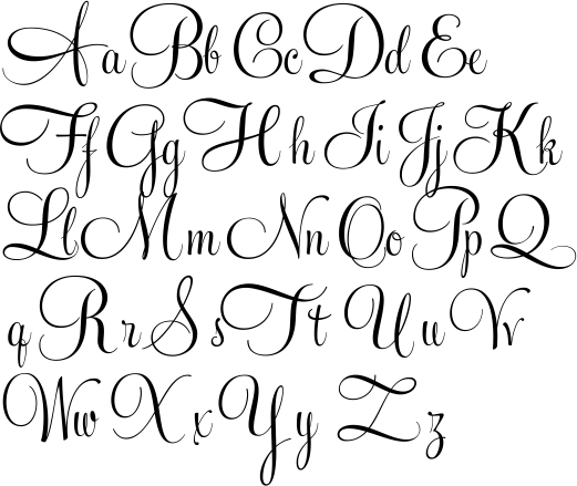 521x439 15 Calligraphy Vector Script For Free Download On Mbtskoudsalg