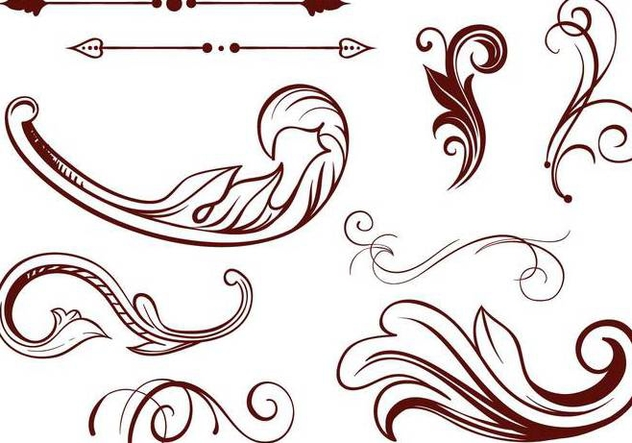 632x443 Free Scrollwork Vectors Free Vector Download 342219 Cannypic
