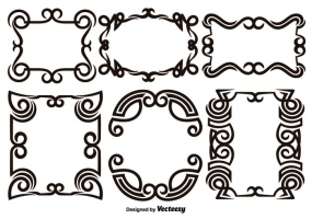 285x200 Scroll Work Free Vector Graphic Art Free Download (Found 4,312