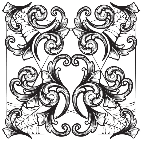 600x600 Scrollwork V.2 Legacy Of Defeat