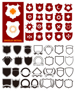 260x314 Download Vector Shapes Free Shield Clipart Shape