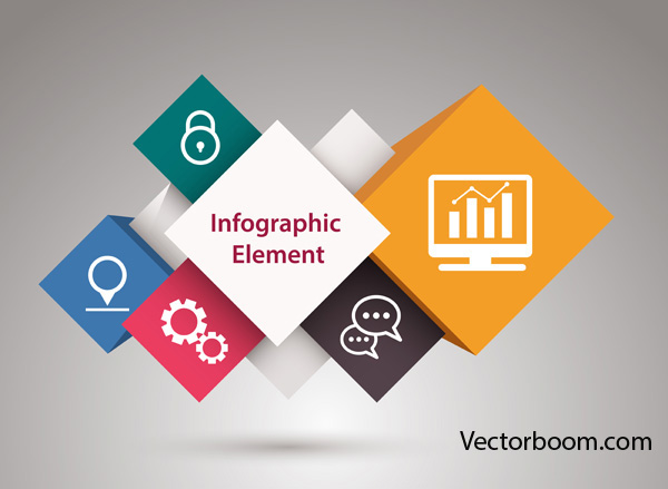 600x439 How To Create Elements Of Infographics Or Abstract Shapes In