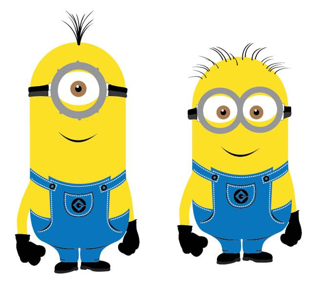 650x592 Despicable Me 2 Minions Vector
