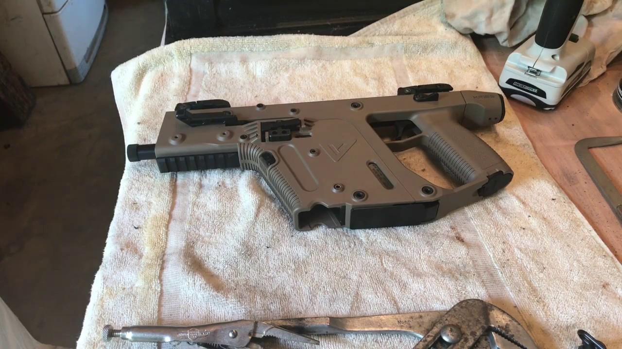 1280x720 Kriss Vector Pistol Qd Sling Mount Removal From M4 Adaptor (Built