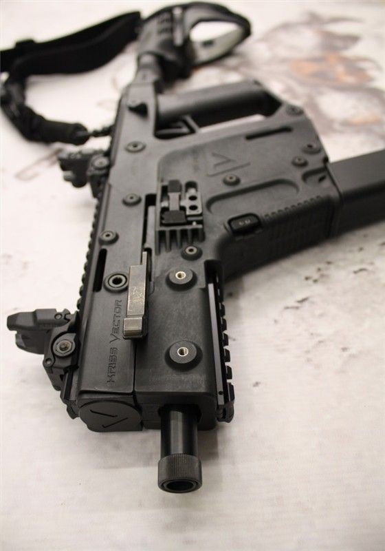 560x800 Kriss Vector Pistol Single Point Tactical Sling, Topottom