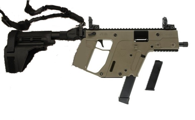 677x417 Kriss Vector Sdp Gen2 Super V Pistol 9mm Fde Kriss M4 Adapter, Kak