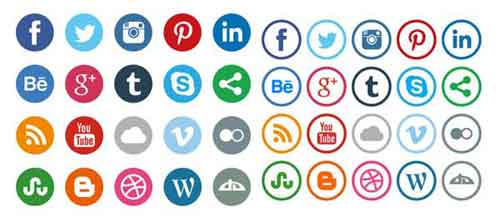 500x223 Social Media Icons To Odwnload For Your Blogs And Websites