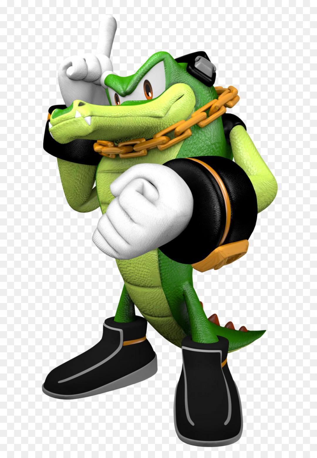 1080x1560 Png Vector The Crocodile Espio The Chameleon Sonic The Lazttweet