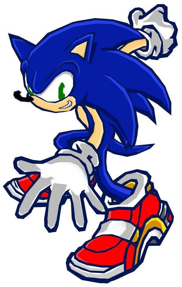 600x947 Sonic Adventure 2 Battle Vector